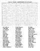 Famous People From Minnesota Crossword & Word Search