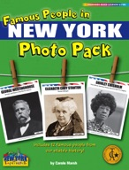 Famous People from New York Photo Pack