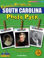 Famous People from South Carolina Photo Pack