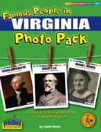Famous People from Virginia Photo Pack