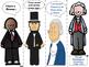 Famous People with January/February Birthdays Bookmarks Freebie