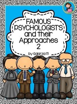 Famous Psychologists Interactive Portfolio set 2
