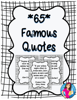 Famous Quotes Posters