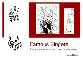 Famous Singers