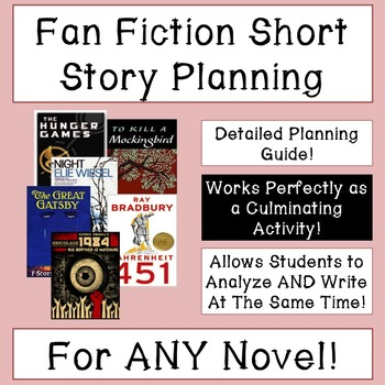 Fan Fiction Planning Guide: Works With Any Novel!