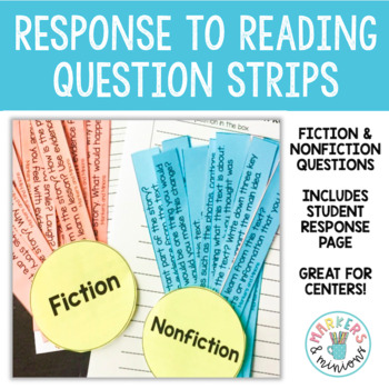 Fan n' Pick Questions for Fiction & Nonfiction (Benchmark