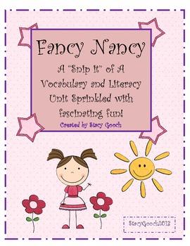 Fancy Nancy Freebie