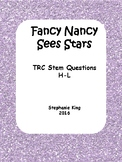 Fancy Nancy Sees Stars TRC Practice Questions