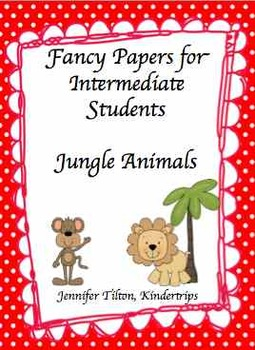 Writing Papers for Intermediate Students-Jungle Anmals