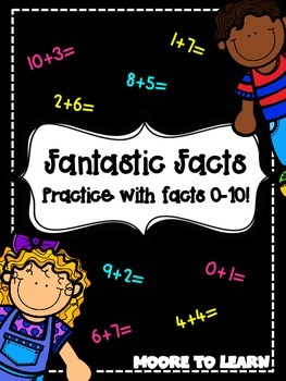 Fantastic Facts: Fluency Practice for Numbers 1-10