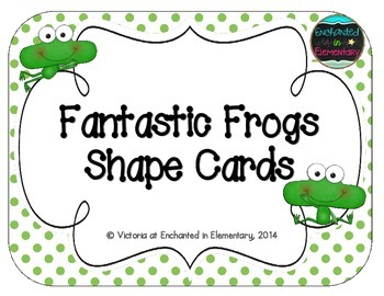 Fantastic Frogs Shape Cards