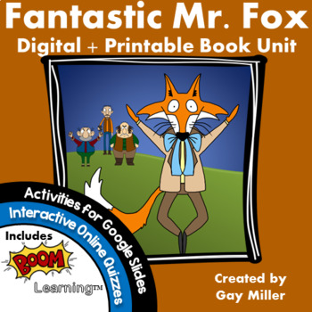 Fantastic Mr. Fox [Roald Dahl] Book Unit
