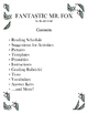 Fantastic Mr. Fox By Dahl: Literature Study (tests, vocabu