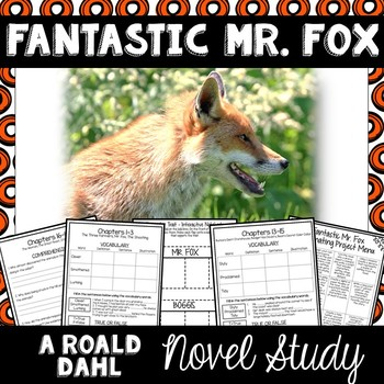 Fantastic Mr. Fox Novel Study