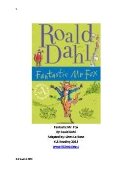 Fantastic Mr Fox - Roald Dahl Adapted Book Summary Questio