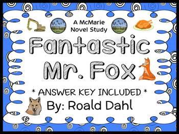 Fantastic Mr. Fox (Roald Dahl) Novel Study / Comprehension