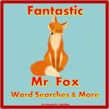 Fantastic Mr. Fox Word Searches & More
