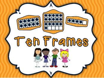 Fantastic Ten Frame Cards
