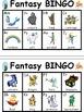 Fantasy ABC Bingo