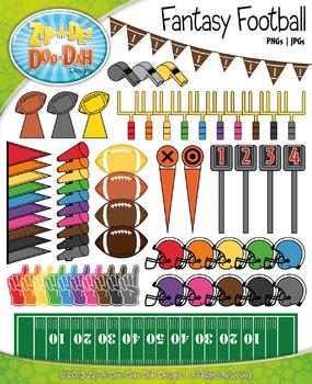 Fantasy Football Clip Art — Includes 95 Graphics!