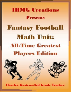 Fantasy Football Math Unit: All-Time Greatest Players Edit