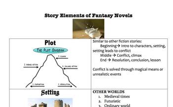 Fantasy Genre Unit: Story Elements