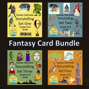Task Card Bundle, Storytelling, Creative Writing, CCSS, Fu