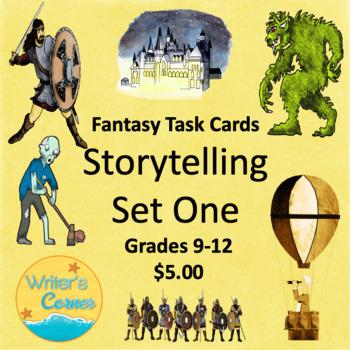 Fantasy Task Cards (Storytelling Set One) Creative Writing