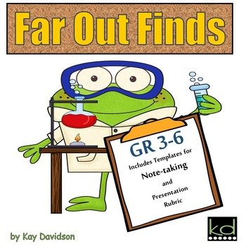 Far Out Finds:  Science Activity for Young Scientists in G