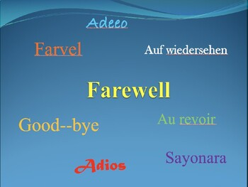 End of Year Powerpoint