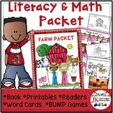 Farm Packet! - Literacy and Math Activities