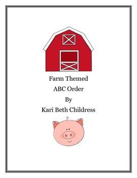 Farm ABC Order Pack