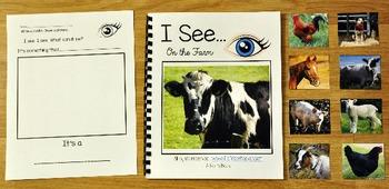 "Farm Adapted Book: ""I See"" At the Farm"