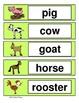 Farm Animals Graph-Common Core Aligned