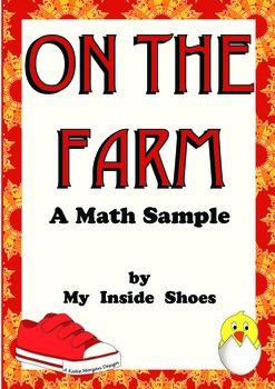 Farm Animal Math Sample
