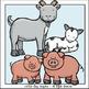 Farm Animal Moms and Babies Clip Art Set - Chirp Graphics