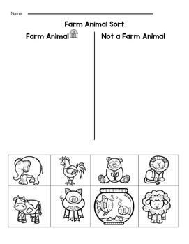 Farm Animal Sort
