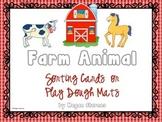 Farm Animal Vocabulary Cards