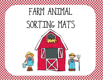 Farm Animal Sorting Mats