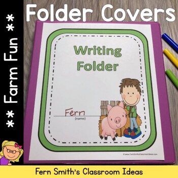 Binder Covers - Farm Friends and Farm Animals