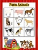Farm Animals Bingo Game
