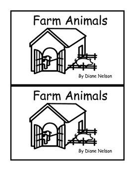 Farm Animals Emergent Reader 0.9 or C