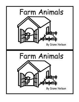 Farm Animals Guided Reading Bundle