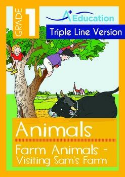 Farm Animals (I): Visiting Sam's Farm (with 'Triple-Track