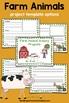 Farm Animals Inquiry Project