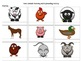 Farm Animals Matching and Keyboarding Practice