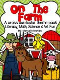 Farm Animals-On The Farm-Literacy,Math,Science and Art FUN