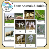 Farm Animals & Their Babies