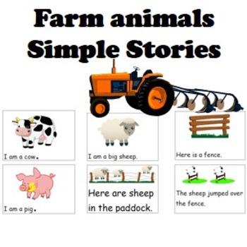 Farm Animals simple stories