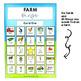 Farm Bingo Game a great way to build vocabulary